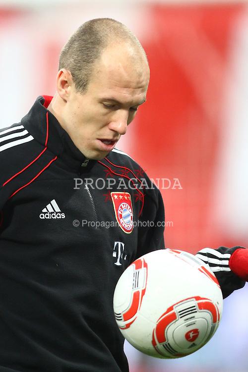 26.03.2011, Allianz Arena, Muenchen, GER, 1.FBL, FC Bayern Muenchen vs Borussia Dortmund, im Bild  Arjen Robben (Bayern #10) , EXPA Pictures © 2011, PhotoCredit: EXPA/ nph/  Straubmeier       ****** out of GER / SWE / CRO  / BEL ******