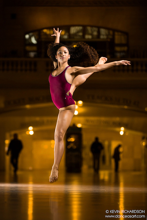 Dance As Art The New York Photography Project Grand Central Series with Samara Taylor