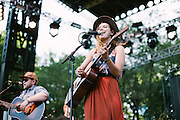Of Monsters & Men performs at Lollapalooza in Chicago, IL on August 5, 2012