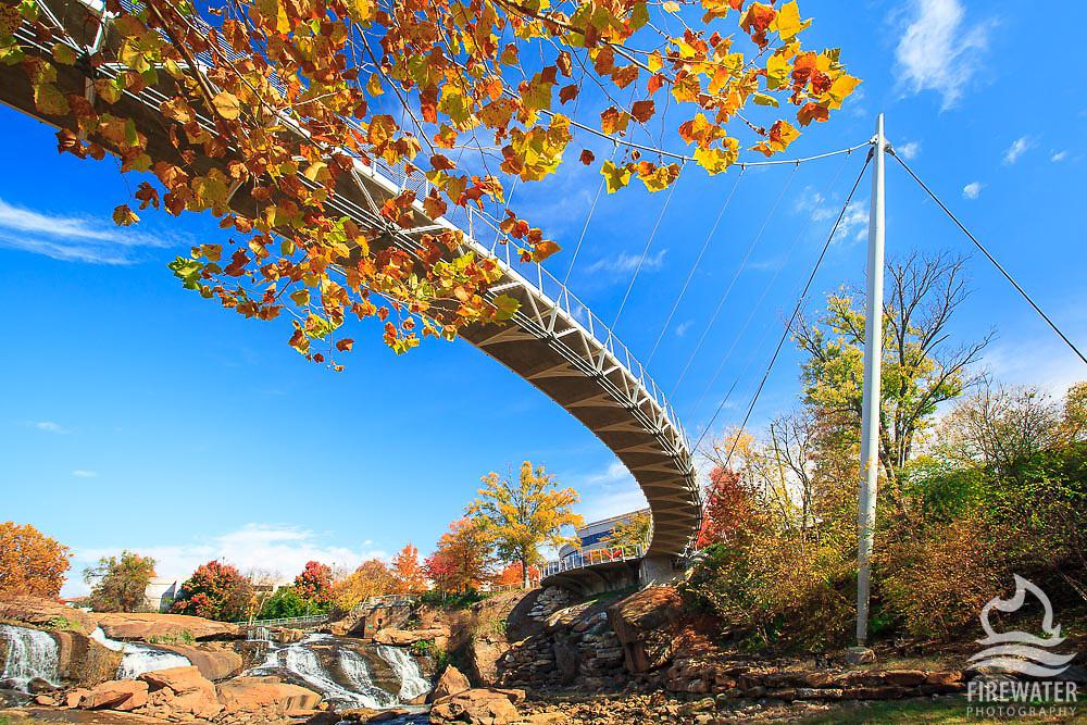 Liberty Bridge at Falls Park - Downtown Greenville, SC