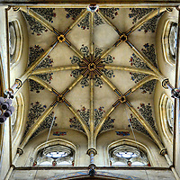 Church of Our Lady Vaulted Dome in Trier, Germany <br />