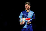 Jason McCarthy of Wycombe Wanderers during the EFL Sky Bet League 1 match between Wycombe Wanderers and Bristol Rovers at Adams Park, High Wycombe, England on 8 February 2020.