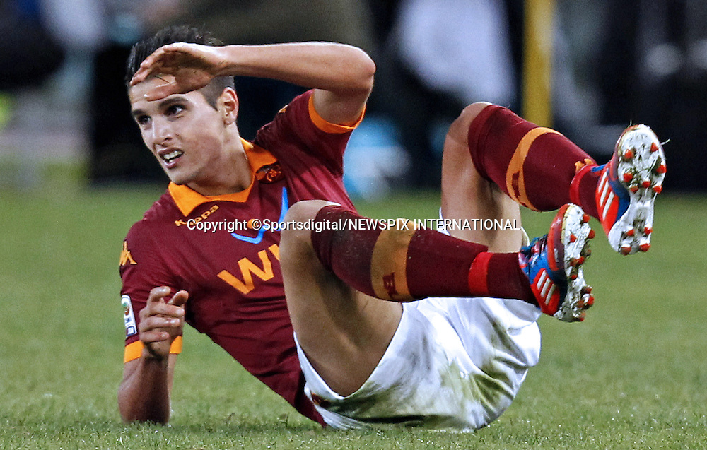 ERIK LAMELA<br /> the midfileder who has joined Tottenham Hotspurs for a fee worth up to &pound;30million.<br /> The 21-year-old Argentinian who has been capped three times for his country is due to sign a five-year contract following a medical in London.<br /> Mandatory Credit Photo: &copy;Ciambelli-Sestini/Sportsdigital/NEWSPIX INTERNATIONAL<br /> <br /> **ALL FEES PAYABLE TO: &quot;NEWSPIX INTERNATIONAL&quot;**<br /> <br /> IMMEDIATE CONFIRMATION OF USAGE REQUIRED:<br /> Newspix International, 31 Chinnery Hill, Bishop's Stortford, ENGLAND CM23 3PS<br /> Tel:+441279 324672  ; Fax: +441279656877<br /> Mobile:  07775681153<br /> e-mail: info@newspixinternational.co.uk