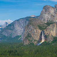 The Yosemite Valley in Yosemite National Park, California