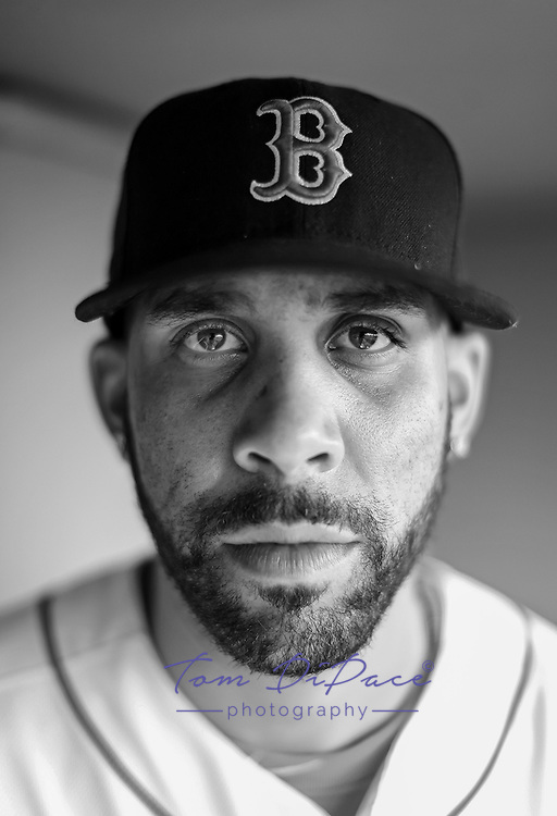 Boston RedSox David Price shot for Rawlings <br /> By Tom DiPace