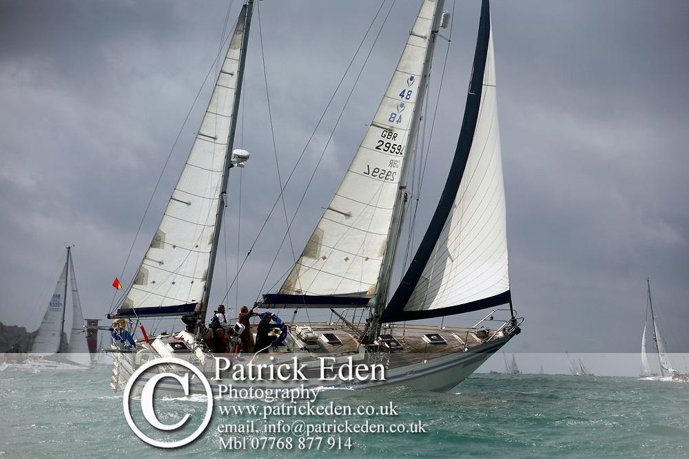GBR  2959L Windcatcher J P Morgan Asset Management Round the Ilsand Race 2012 Sports Photography