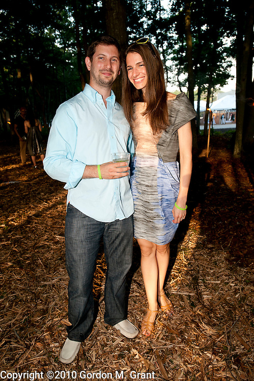 Water Mill, NY - 7/24/10 -   Rowan Hajaj and Naomi Waletzky attend  The 17th Annual Watermill Summer Benefit at The Watermill Center in Water Mill, NY July 24, 2010. CREDIT: Gordon M. Grant for The Wall Street Journal.NYSCENE_Watermill