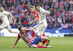 February 9, 2019 - Madrid, Madrid, Spain - Dani Ceballos of Real Madrid in action during La Liga Spanish championship, , football match between Atletico de Madrid and Real Madrid, February 09th, in Wanda Metropolitano Stadium in Madrid, Spain. (Credit Image: © AFP7 via ZUMA Wire)