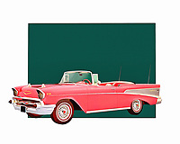 The longer you stare at this digital painting by Jan Keteleer, the easier it will be to transport to a different time and place. The Chevy Belair is one of the most beloved vintage cars of all time. Did you own one yourself? Does this fine art piece take you back to those days? .<br /> <br /> BUY THIS PRINT AT<br /> <br /> FINE ART AMERICA<br /> ENGLISH<br /> https://janke.pixels.com/featured/chevy-belair-jan-keteleer.html<br /> <br /> WADM / OH MY PRINTS<br /> DUTCH / FRENCH / GERMAN<br /> https://www.werkaandemuur.nl/nl/shopwerk/Klassieke-auto---Oldtimer-Chevy-Belair/435890/134