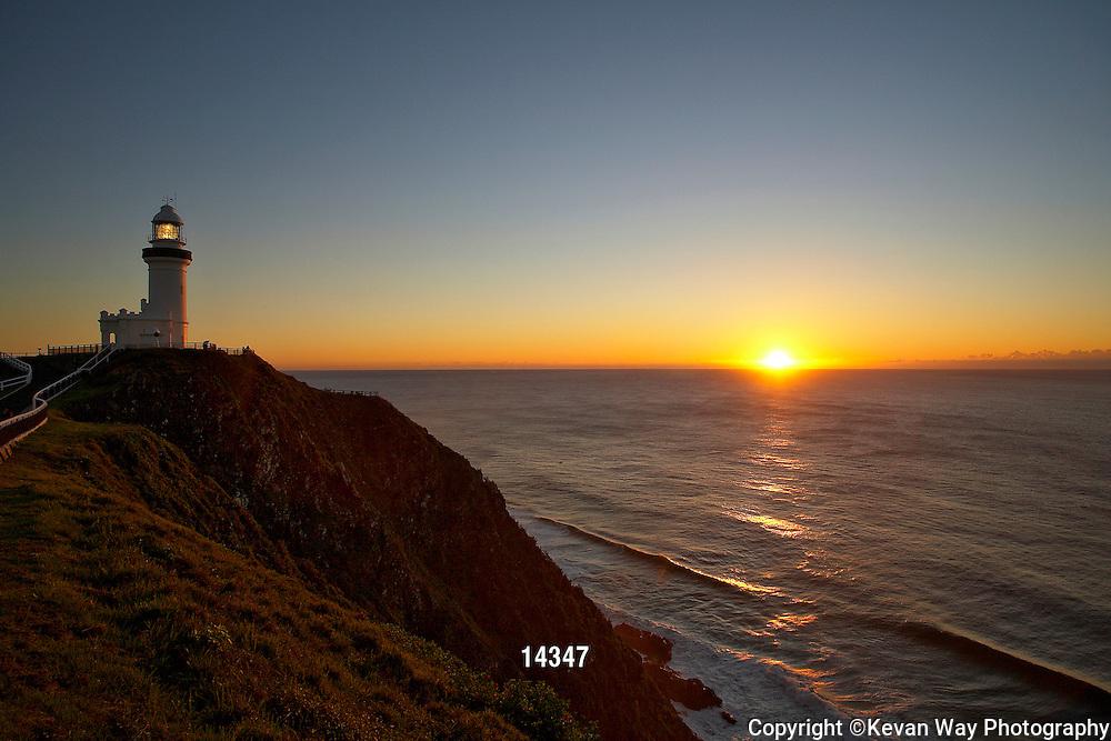 lighthouse sunrise Byron Bay NSW