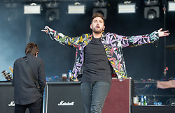 Josh Franceschi of You Me At Six performs live on stage on day 1 of Download Festival at Donington Park on June 08, 2018 in Castle Donington, England. Picture date: Friday 08 June, 2018. Photo credit: Katja Ogrin/ EMPICS Entertainment.