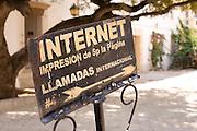 Internet Sign in Santo Domingo, Dominican Republic
