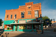 Shops in downtown Weiser, Idaho.