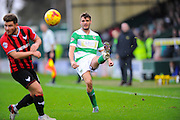 Yeovil Town's Ryan Dickson during the Sky Bet League 2 match between Yeovil Town and Oxford United at Huish Park, Yeovil, England on 28 December 2015. Photo by Graham Hunt.