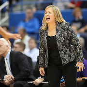 HARTFORD, CONNECTICUT- JANUARY 4: Head coach Heather Macy of the East Carolina Lady Pirates during the UConn Huskies Vs East Carolina Pirates, NCAA Women's Basketball game on January 4th, 2017 at the XL Center, Hartford, Connecticut. (Photo by Tim Clayton/Corbis via Getty Images)