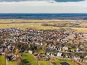 Nederland, Utrecht, Gemeente Stichtse Vecht, 20-02-2012; Loenen aan de Vecht..Village Loenen aan de Vecht (river)..luchtfoto (toeslag), aerial photo (additional fee required);.copyright foto/photo Siebe Swart.