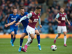 Morgan Schneiderlin of Everton (L) and Dwight McNeil of Burnley in action - Mandatory by-line: Jack Phillips/JMP - 05/10/2019 - FOOTBALL - Turf Moor - Burnley, England - Burnley v Everton - English Premier League