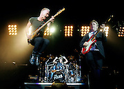 METRO - The Police, Sting, Andy Summers and Stewart Copeland, perform Tuesday, November 20, 2007 at the AT&T Center. The band is touring for the first time in 20 years and made its first stop in San Antonio ever. BAHRAM MARK SOBHANI/STAFF