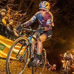 2019-12-29: Cycling: Superprestige: Diegem: Pauline Ferrand Prevot making her reentrance in cyclocross