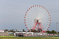 Sebastian Vettel (GER) Red Bull Racing RB10.<br /> Japanese Grand Prix, Saturday 4th October 2014. Suzuka, Japan.