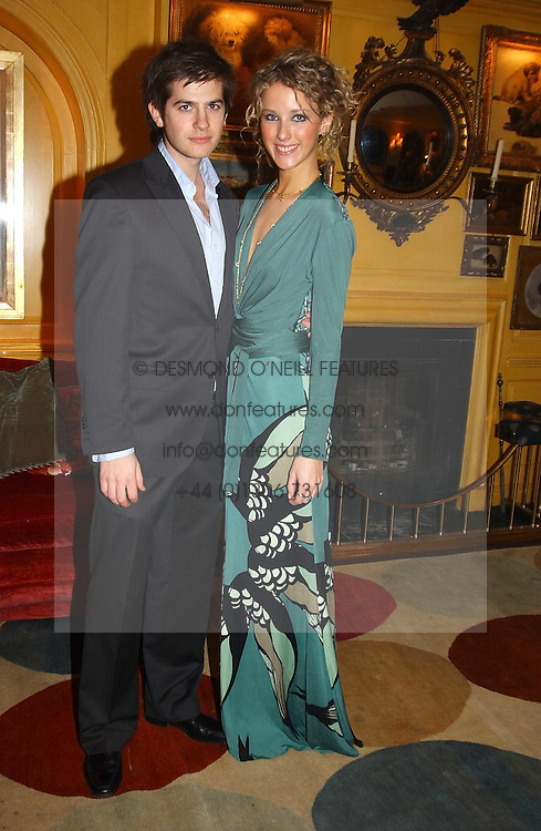MISS KATE MELHUISH and JACK FREUD at a private dinner and presentation of Issa's Autumn-Winter 2005-2006 collection held at Annabel's, 44 Berkeley Square, London on 15th March 2005.<br /><br />NON EXCLUSIVE - WORLD RIGHTS