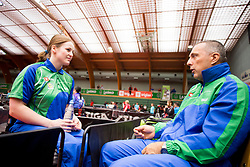 Barbara Meglic at 14th Slovenia Open - Thermana Lasko 2017 Table Tennis Championships for the Disabled Factor 40, on May 6, 2017, in Dvorana Tri Lilije, Lasko, Slovenia. Photo by Urban Urbanc / Sportida
