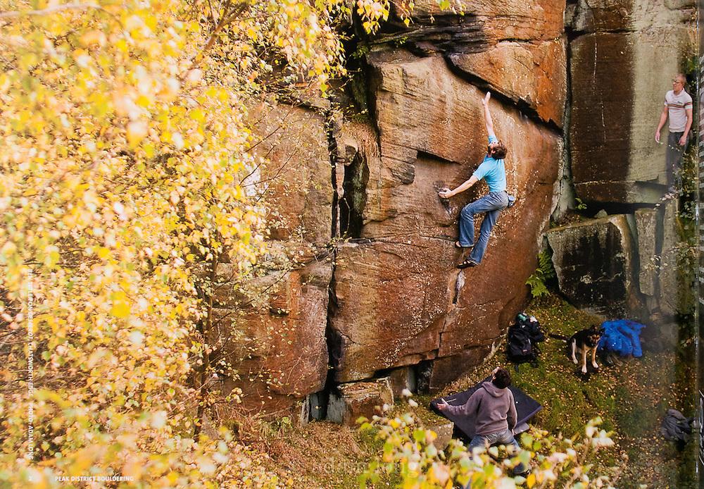 Frontispiece, VG Peak Bouldering Guidebook