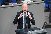21 MAR 2019, BERLIN/GERMANY:<br /> Ralph Brinkhaus, CDU, CDU/ CSU Fraktionsvorsitzender, haelt eine Rede, BUndestagsdebatte zur Regierungserklaerung der Bundeskanzlerin zum Europaeischen Rat, Plenum, Deutscher Bundestag<br /> IMAGE: 20190321-01-079