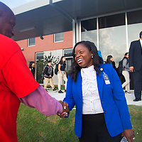 Dr. Goffney Visits Schools