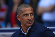 Sabri Lamouchi during the EFL Sky Bet Championship match between Nottingham Forest and Birmingham City at the City Ground, Nottingham, England on 17 August 2019.