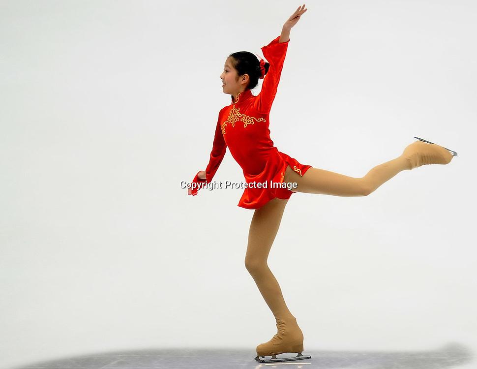 Dec 09, 2010; Beijing, CHINA; The opening ceremony of the ISU Grand Prix Final.