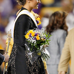 November 12, 2011; Baton Rouge, LA, USA; LSU Tigers soccer star Mo Isom named homecoming queen at halftime of a game against the Western Kentucky Hilltoppers is set to try out as a kicker for the LSU Tigers next season at Tiger Stadium.  Mandatory Credit: Derick E. Hingle-US PRESSWIRE