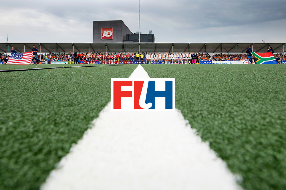 THE HAGUE - Rabobank Hockey World Cup 2014 - 10-06-2014 - WOMEN - USA - SOUTH AFRICA - <br /> Copyright: Willem Vernes