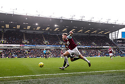 Charlie Taylor of Burnley runs down the wing at Turf Moor - Mandatory by-line: Robbie Stephenson/JMP - 19/01/2020 - FOOTBALL - Turf Moor - Burnley, England - Burnley v Leicester City - Premier League