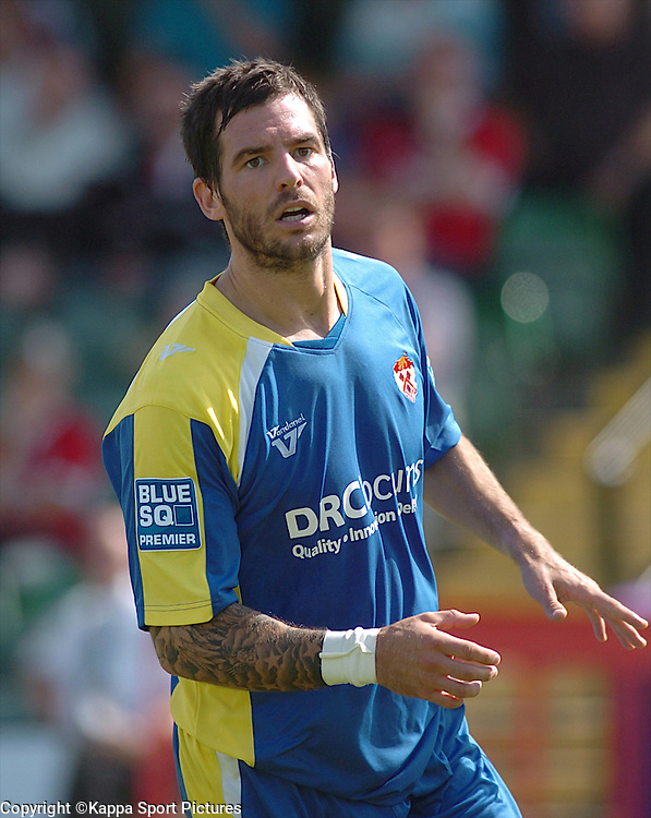 Gareth Seddon Kettering Town, Forest Green Rovers v Kettering Town, Conference, The New Lawn Stadium, Nailsworth, Saturday 8thAugust 2009,<br /> Score 1-2 (Marna 71,81,)