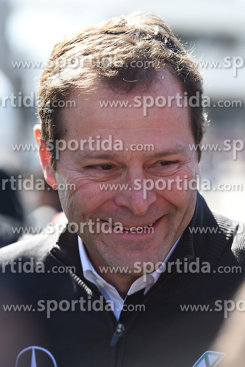 28.02.2015, Circuit de Catalunya, Barcelona, ESP, FIA, Formel 1, Testfahrten, Barcelona, Tag 3, im Bild Aldo Costa (ITA) Mercedes AMG F1 Engineering Director // during the Formula One Testdrives, day three at the Circuit de Catalunya in Barcelona, Spain on 2015/02/28. EXPA Pictures &copy; 2015, PhotoCredit: EXPA/ Sutton Images/ Mark Images<br /> <br /> *****ATTENTION - for AUT, SLO, CRO, SRB, BIH, MAZ only*****