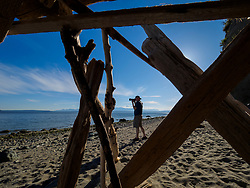 United States, Washington, Whidbey Island, Ebey's Landing State Park Heritage Site