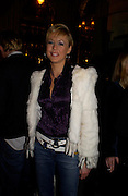 Lady Alexandra Spencer-Churchill, W'Sens-restaurant launch party. 12 Waterloo Place. 10 December 2004. ONE TIME USE ONLY - DO NOT ARCHIVE  © Copyright Photograph by Dafydd Jones 66 Stockwell Park Rd. London SW9 0DA Tel 020 7733 0108 www.dafjones.com