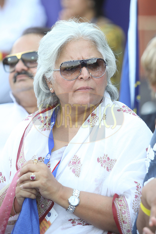 Tourism minister of Rajasthan, Bina Kak  during match 34 of the the Indian Premier League ( IPL ) Season 4 between the Rajasthan Royals and the Mumbai Indians held at the Sawai Mansingh Stadium, Jaipur, Rajatshan, India on the 29th April 2011..Photo by Sandeep Shetty/BCCI/SPORTZPICS.