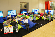 Photokina 2010, World's biggest bi-annual photo fair. Relaxation area.