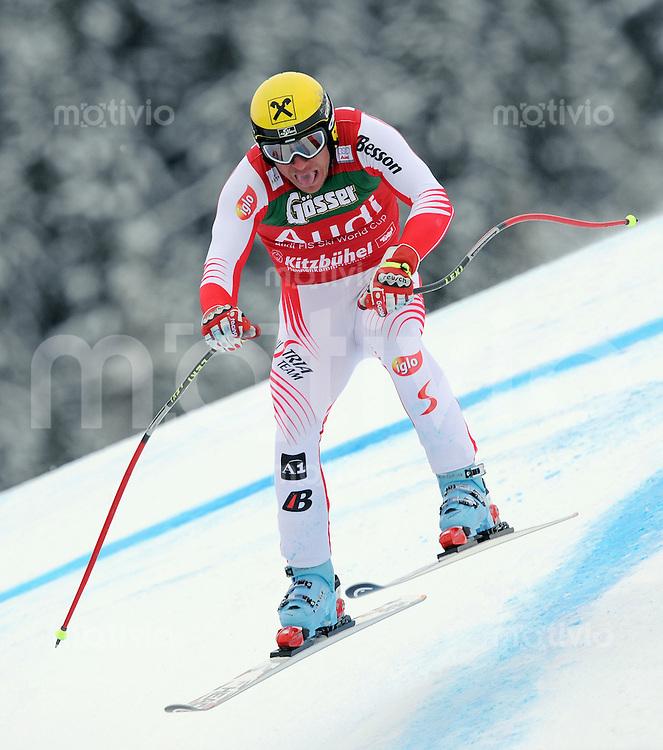 Ski Alpin  Saison 2008/2009   23.01.2009 69. Hahnenkamm Rennen,  Super G Hermann Maier (AUT)