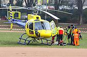 Hubschrauberbereinsatz am Fernmeldeturm