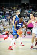 DESCRIZIONE : Basketball Jeux Olympiques Londres Demi finale<br /> GIOCATORE : Gomis Emilie<br /> SQUADRA : France  FEMME<br /> EVENTO : Jeux Olympiques<br /> GARA : France Russie<br /> DATA : 09 08 2012<br /> CATEGORIA : Basketball Jeux Olympiques<br /> SPORT : Basketball<br /> AUTORE : JF Molliere <br /> Galleria : France JEUX OLYMPIQUES 2012 Action<br /> Fotonotizia : Jeux Olympiques Londres demi Finale Greenwich Northwest Arena<br /> Predefinita :