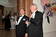 MATHEW WESTERMAN; PHILIP MARSDEN, Royal Academy of Arts Annual dinner. Royal Academy. Piccadilly. London. 1 June <br /> <br />  , -DO NOT ARCHIVE-© Copyright Photograph by Dafydd Jones. 248 Clapham Rd. London SW9 0PZ. Tel 0207 820 0771. www.dafjones.com.