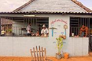 Restaurant in Bolivia, Ciego de Avila Province, Cuba.