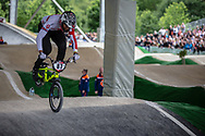 #87 (WHYTE Kye) GBR at Round 6 of the 2019 UCI BMX Supercross World Cup in Saint-Quentin-En-Yvelines, France