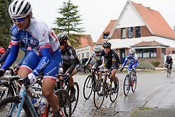Jolien D'hoore (Wiggle High5) at the 112.8 km Le Samyn des Dames on March 1st 2017, from Quaregnon to Dour, Belgium. (Photo by Sean Robinson/Velofocus)