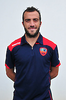 Louis Poggi - 24.10.2014 - Portrait Gazelec Ajaccio - Ligue 2 -<br /> Photo : Philippe Le Brech / Icon Sport
