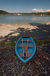 Rowboat at Garrison Bay, San Juan Island, Washington, US