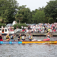 Brian Boru Festival-Killaloe & Ballina. June 28th-July 2nd. At the dragon boat race at the weekend in Killaloe. Pic. Emma Jervis/ Press 22